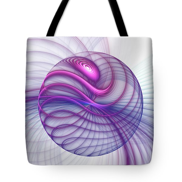 Beautiful Movements Fractal Art Tote Bag