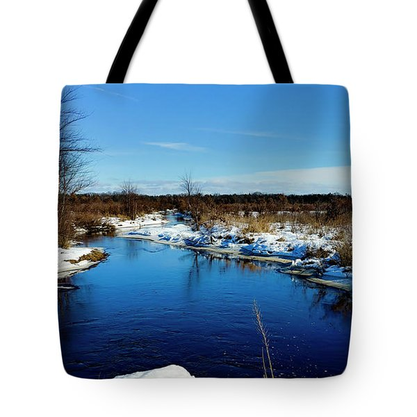Beautiful Necedah Wildlife Refuge  Tote Bag by Ricky L Jones