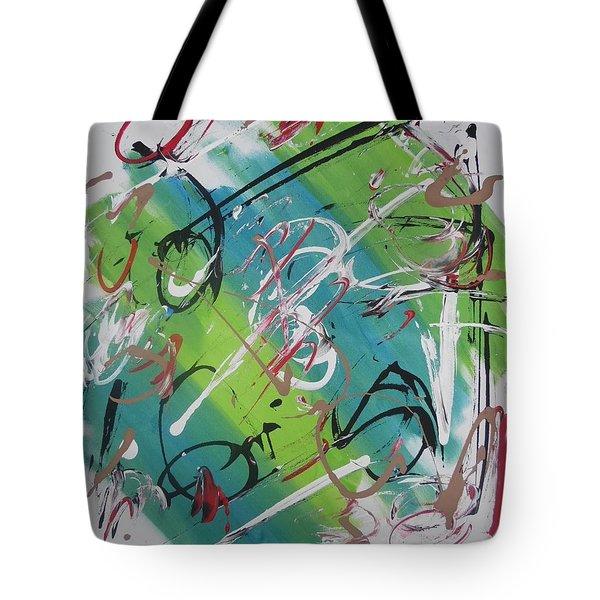 Beautiful Noise Tote Bag