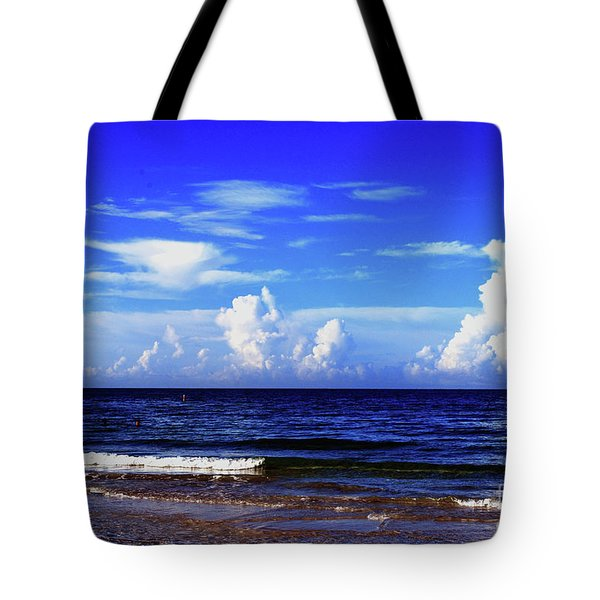 Tote Bag featuring the photograph Beautiful Ocean View by Gary Wonning