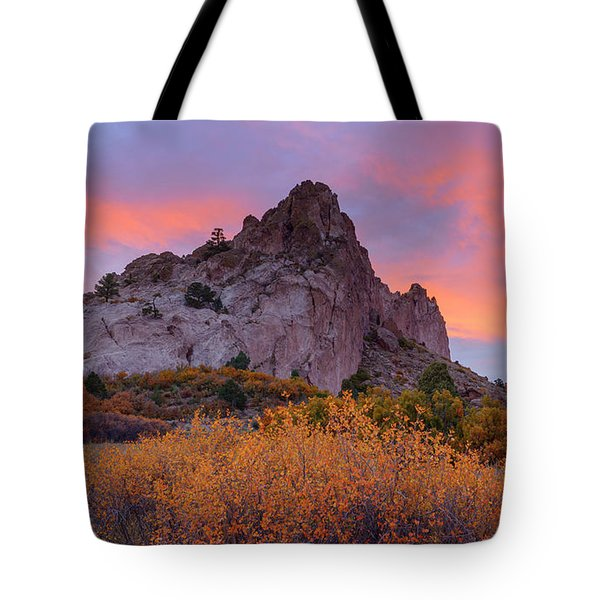 Tote Bag featuring the photograph Beautiful October by Tim Reaves