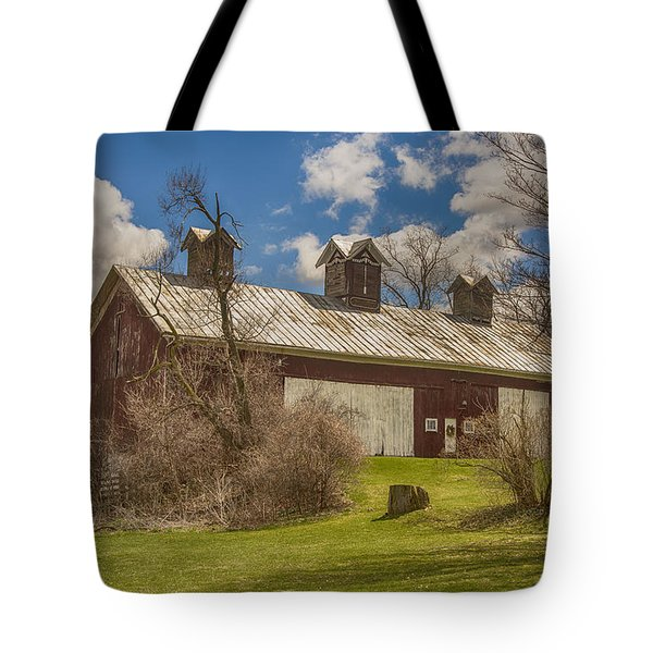 Tote Bag featuring the photograph Beautiful Old Barn by JRP Photography