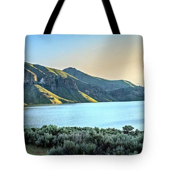 Beautiful Owyhee Reservoir Tote Bag by Robert Bales
