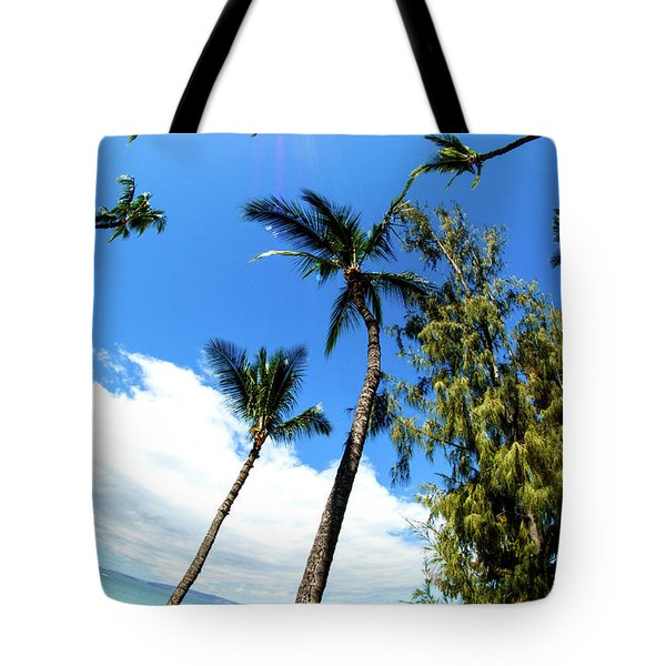 Tote Bag featuring the photograph Beautiful Palms Of Maui 17 by Micah May