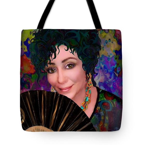 Beautiful Paulette Tote Bag by Jann Paxton