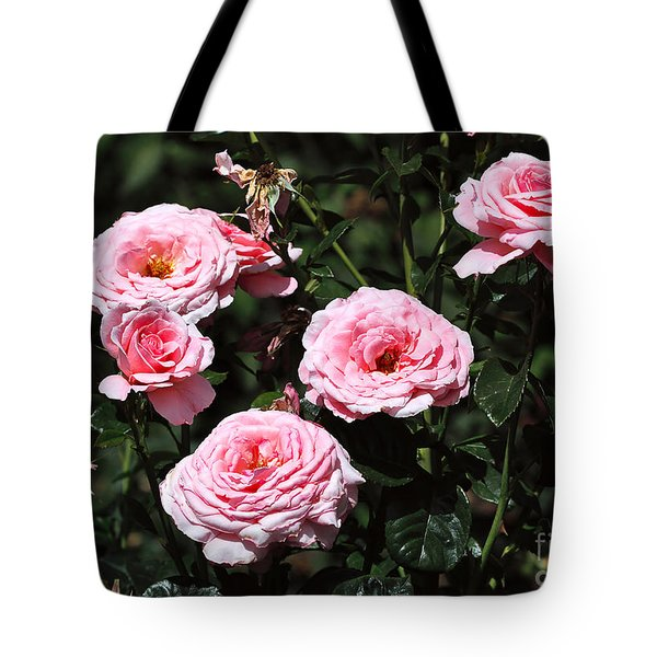 Beautiful Pink Rose L'aimant Tote Bag by Louise Heusinkveld