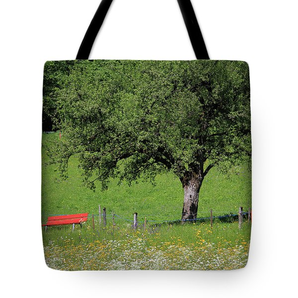 Beautiful Place To Sit Tote Bag