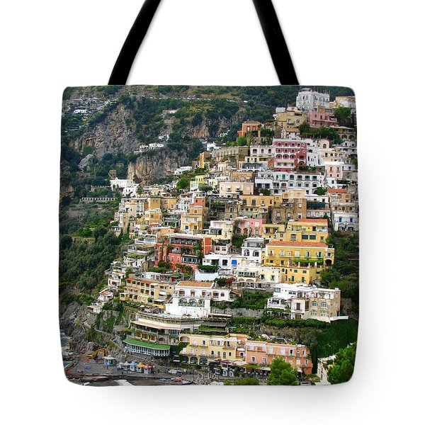 Beautiful Positano Tote Bag