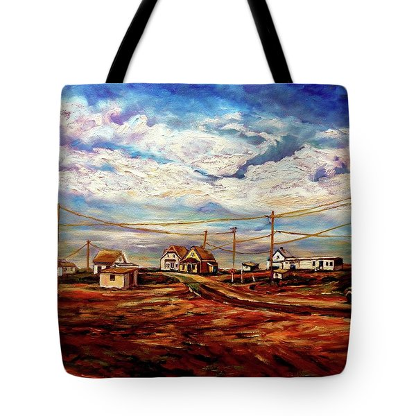 Beautiful Prince Edward Island Maritime Canada Tote Bag by Carole Spandau