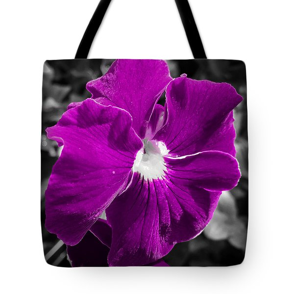 Beautiful Purple Tote Bag