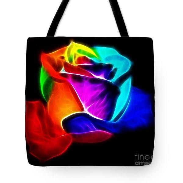 Beautiful Rose Of Colors Tote Bag by Pamela Johnson