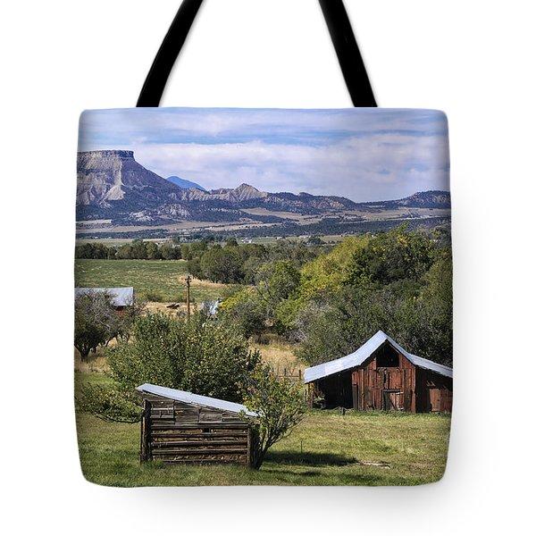 Beautiful Rural Mancos Colorado Tote Bag