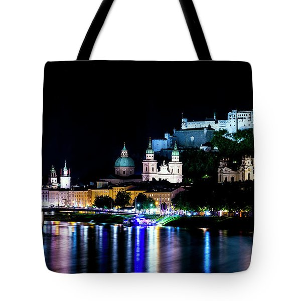 Tote Bag featuring the photograph Beautiful Salzburg by David Morefield
