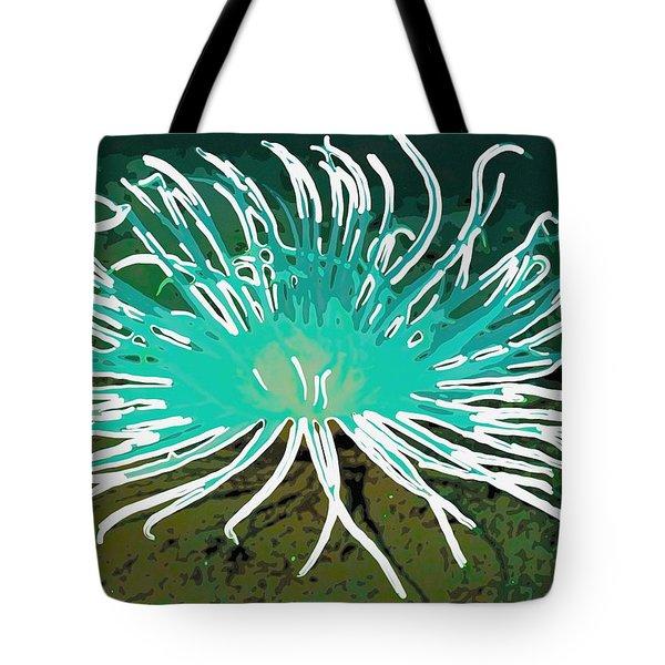 Beautiful Sea Anemone 2 Tote Bag by Lanjee Chee