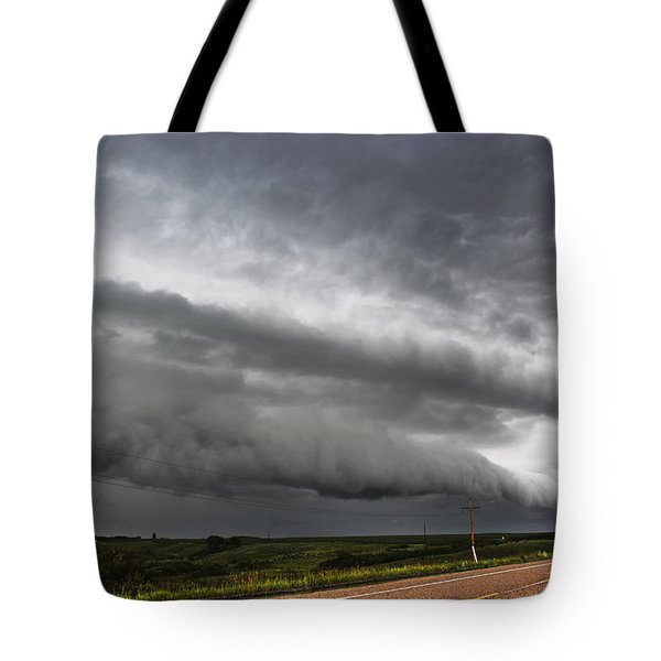Beautiful Shelf Cloud Tote Bag by Ryan Crouse