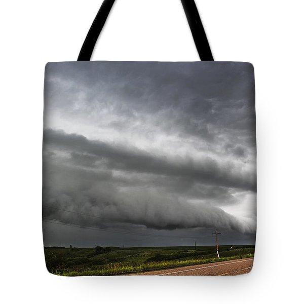 Beautiful Shelf Cloud Tote Bag