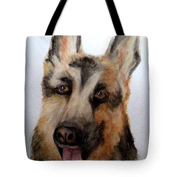 Beautiful Shepard Tote Bag