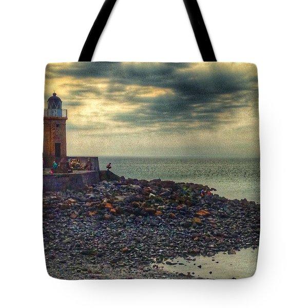 Beautiful Skies At Portpatrick 2 Tote Bag