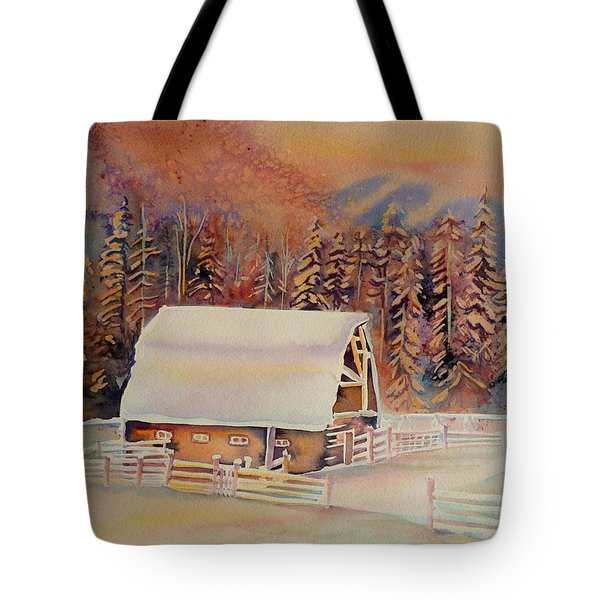 Beautiful Skies  Tote Bag by Carole Spandau