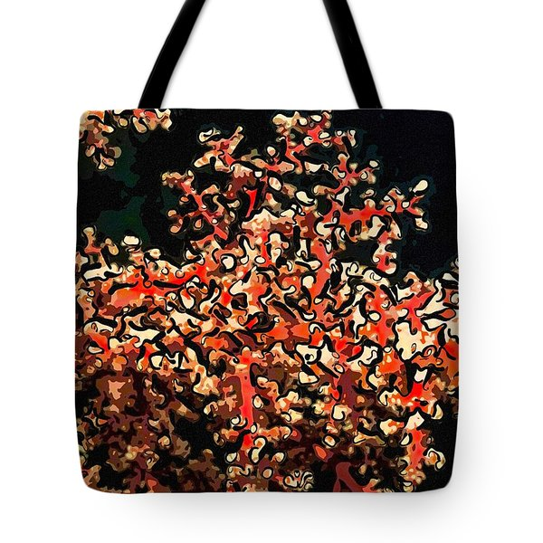 Beautiful Soft Coral 3 Tote Bag by Lanjee Chee