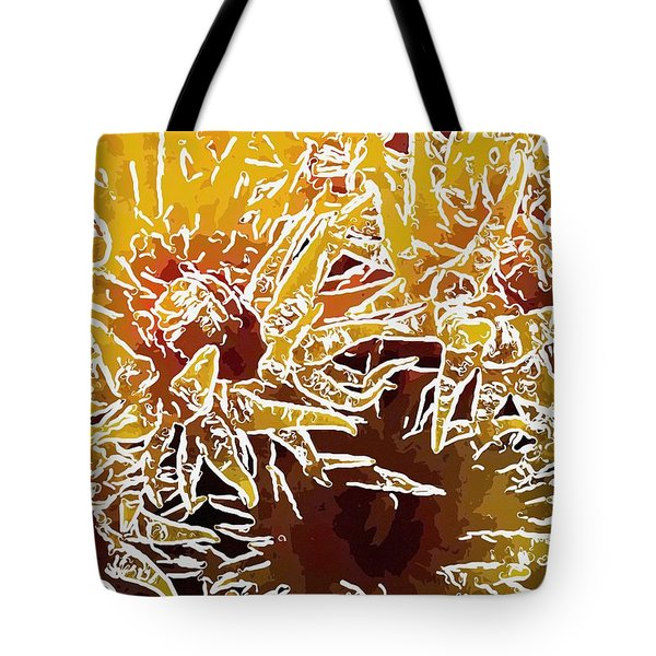 Beautiful Soft Coral Flowers Underwater 1 Tote Bag by Lanjee Chee