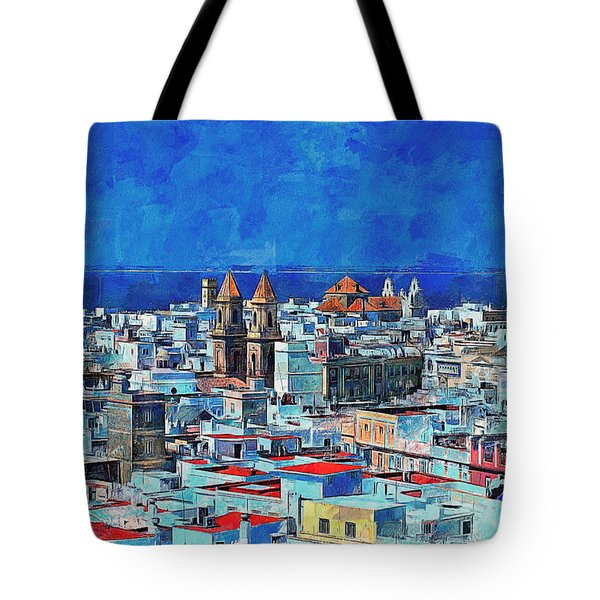 Beautiful Spain Tote Bag