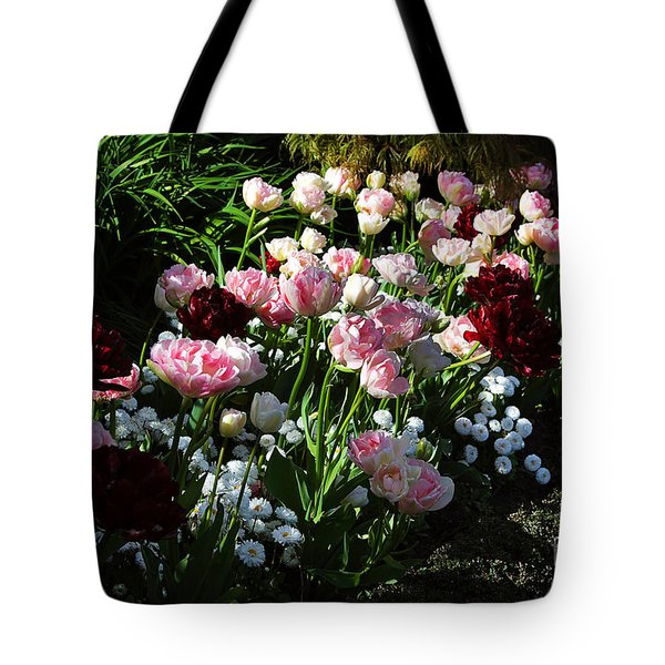 Beautiful Spring Flowers Tote Bag by Louise Heusinkveld