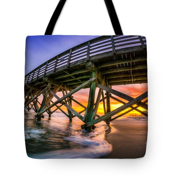 Beautiful Sunset In Myrtle Beach Tote Bag