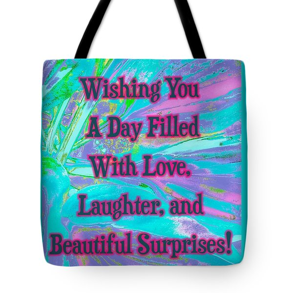 Beautiful Surprises Tote Bag