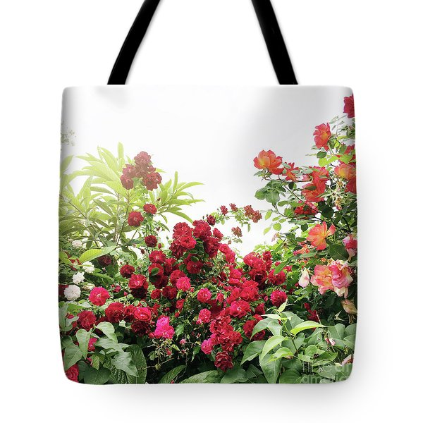 Tote Bag featuring the photograph Beautiful Tangled Hedge by Cindy Garber Iverson