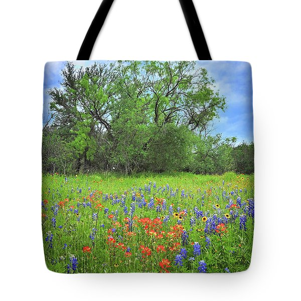 Beautiful Texas Spring Tote Bag