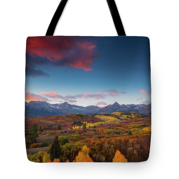 Beautiful Tints Of Autumn Tote Bag