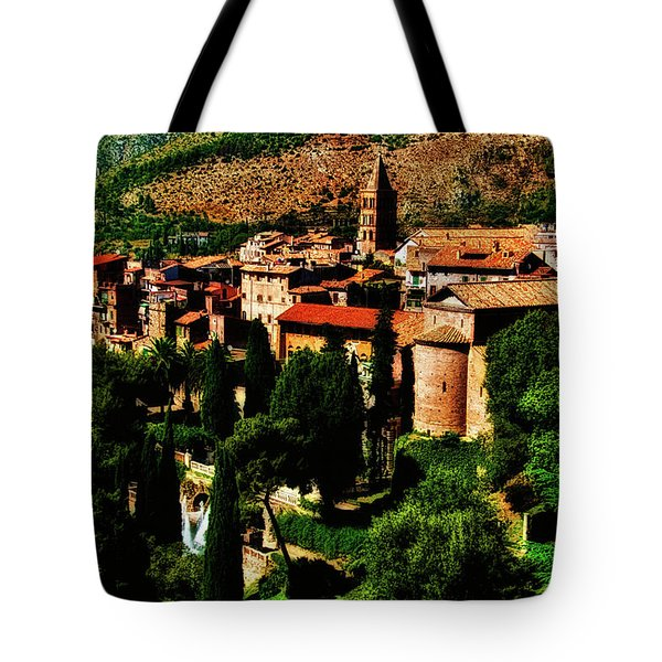 Tote Bag featuring the photograph Beautiful Tivoli by Harry Spitz