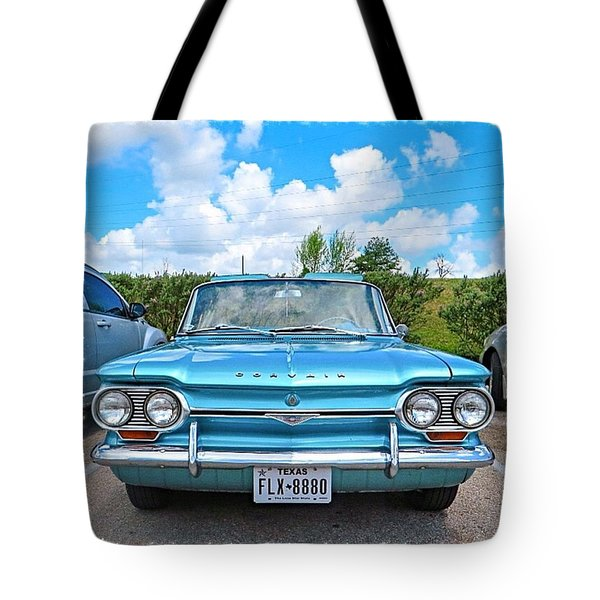 #beautiful #turquoise #chevrolet Tote Bag