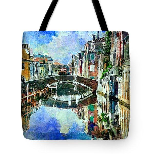 Beautiful Venice Tote Bag