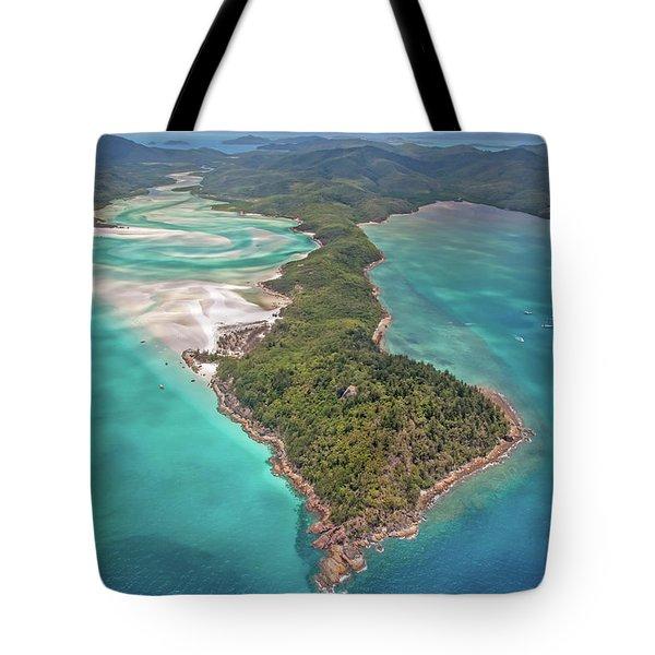 Tote Bag featuring the photograph Beautiful Whitsundays by Az Jackson
