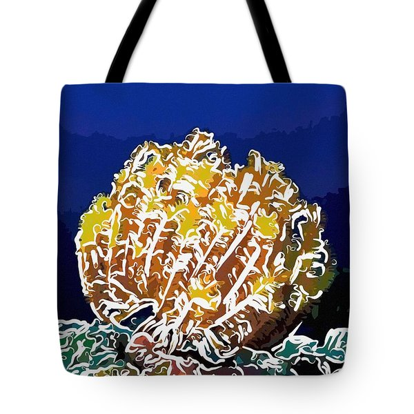 Beautiful Yellow Coral 1 Tote Bag by Lanjee Chee