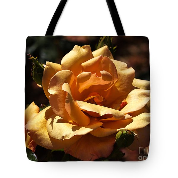 Beautiful Yellow Rose Belle Epoque Tote Bag by Louise Heusinkveld