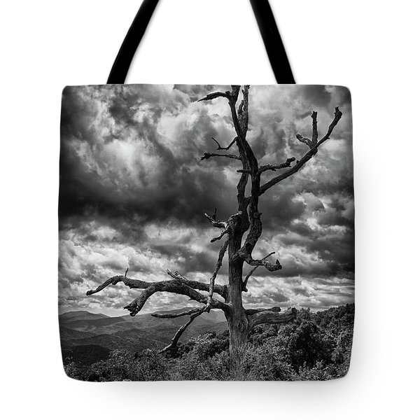 Beautifully Dead In Black And White Tote Bag