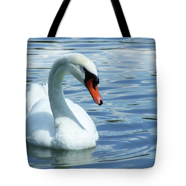 Beautifully Mute Swan Tote Bag