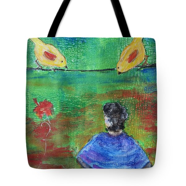 Beauty Above Tote Bag
