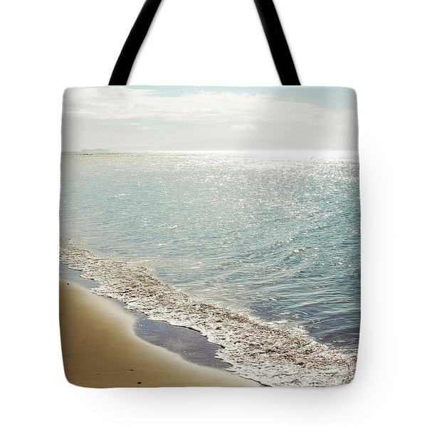 Tote Bag featuring the photograph Beauty And The Beach by Sharon Mau