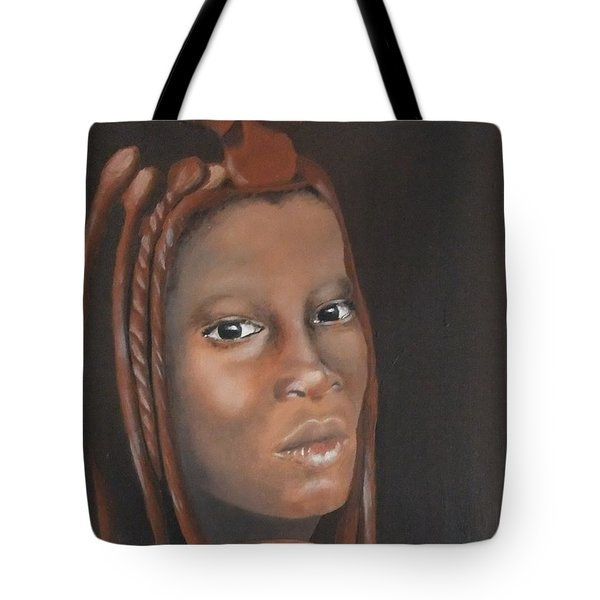 Tote Bag featuring the painting Beauty by Annemeet Hasidi- van der Leij