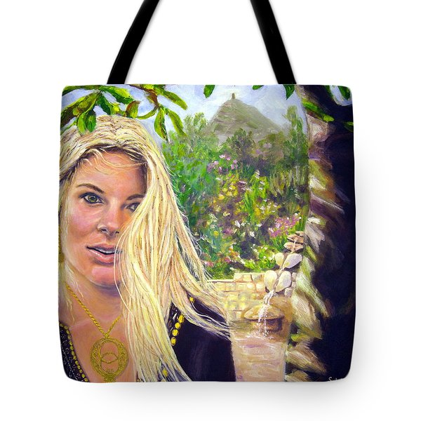 Beauty At Chalice Well Tote Bag