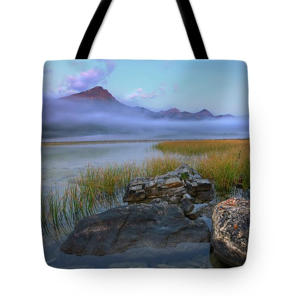 Tote Bag featuring the photograph Beauty Creek Dawn by Dan Jurak