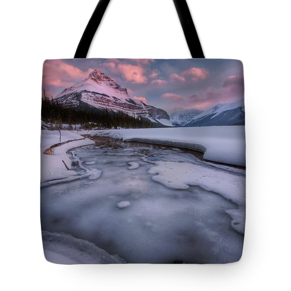 Beauty Creek, Jasper National Park Tote Bag