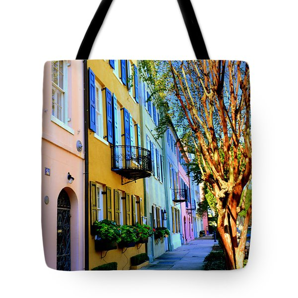 Tote Bag featuring the photograph Beauty In Colors by Lisa Wooten