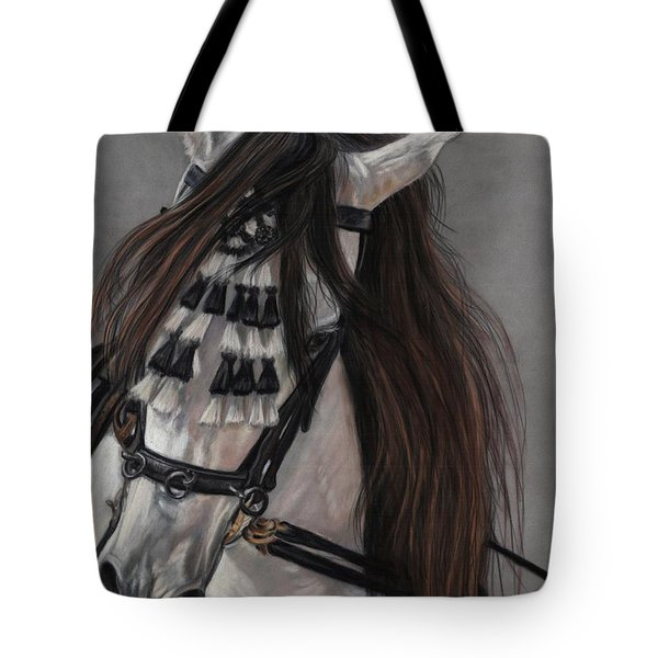 Beauty In Hand Tote Bag by Sheri Gordon