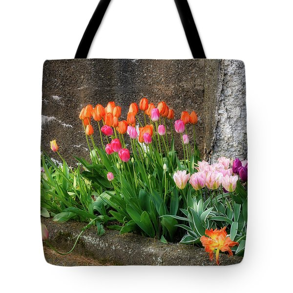 Tote Bag featuring the photograph Beauty In Ruins by Michael Hubley