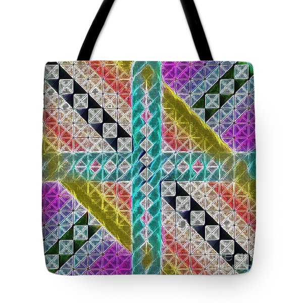 Beauty In The Cross Tote Bag